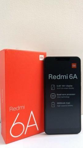Smartphone Xiaomi Redmi 6a 16gb Global 2g Ram + Película