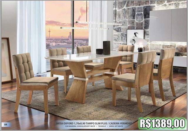 Super Promoção - Sala de Jantar em Laica - Foto 5