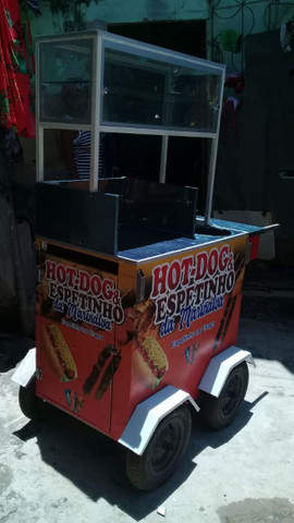 Carro de hot dog - Foto 3