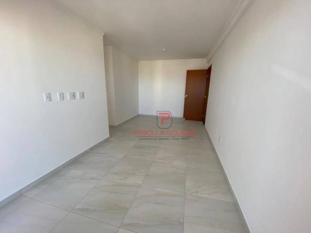 Apartamento novo, 2 quartos, andar alto, varanda gourmet e 2 vagas de garagem - Foto 12