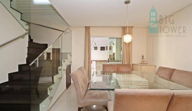 Casa com 3 dormitórios Cond. Fechado à venda, 180 m² - Fazendinha - Curitiba/PR - Foto 12