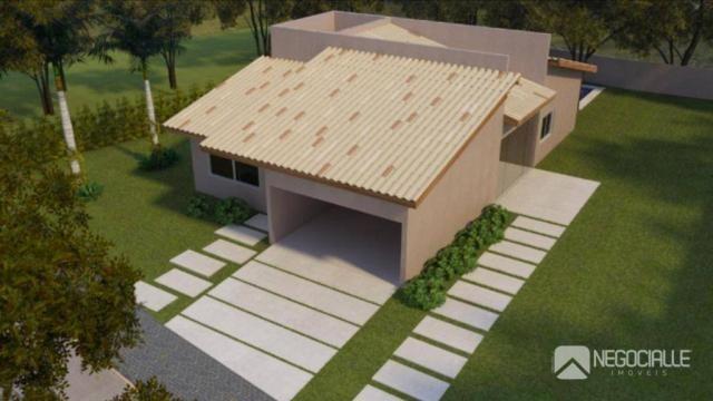 Casa com 3 dormitórios à venda, 240 m² por R$ 600.000,00 - Zona Rural - Campina Grande/PB