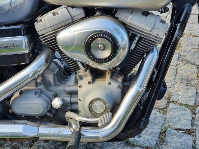 Harley Davidson Dyna Super Glide 1600cc 2008 - Somente Venda - Foto 4