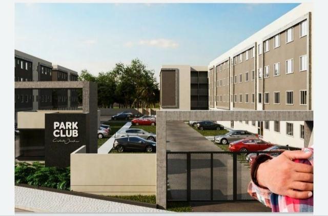 2 Quartos com varanda Águas Lindas GO Mega chance Park Clube Cidade Jardim - MCMV