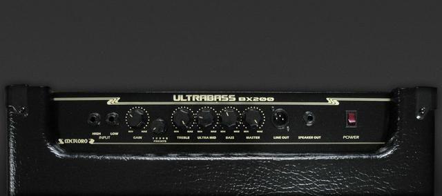 Amplificador Cubo De Contra Baixo Meteoro Ultrabass BX200 - Foto 2