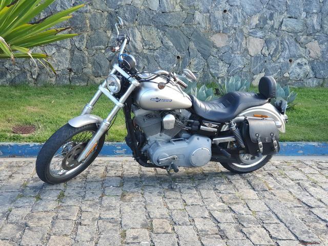 Harley Davidson Dyna Super Glide 1600cc 2008 - Somente Venda - Foto 3