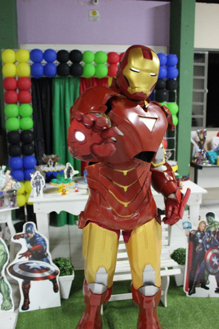 Fantasia Homem de Ferro Cosplay - Foto 2
