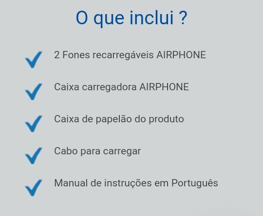 Vendo airphone muito top pra compra fácil acesse o link na descrição  - Foto 3
