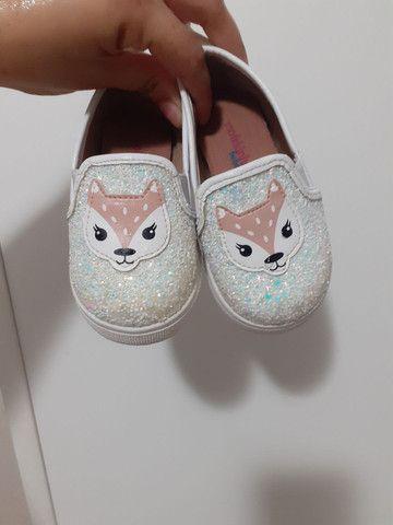 Sapato raposinha infantil  - Foto 3