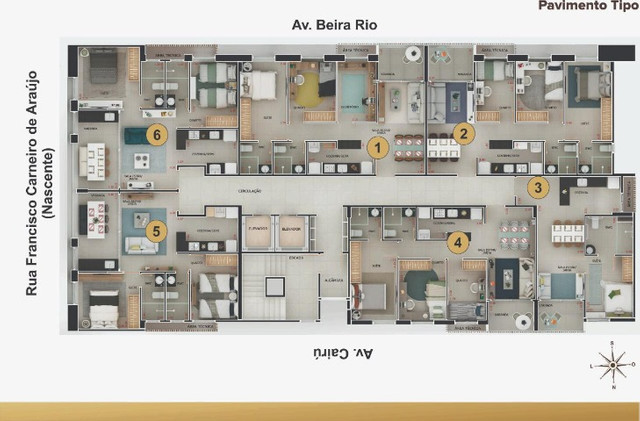 Jazz 135 - Cabo Branco - 44 m² a 62 m² - 01, 02 e 03 Qts - 01 vg - Foto 14