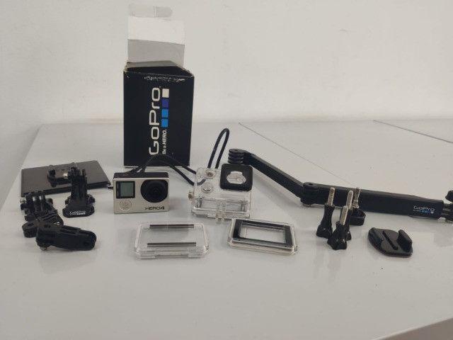 GoPro Hero 4 Silver - Com LCD - Foto 4