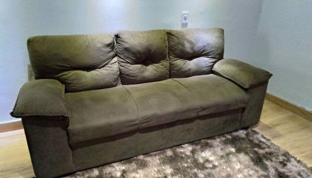 Vendo sofá 2 e 3 lugares seminovo - Foto 2