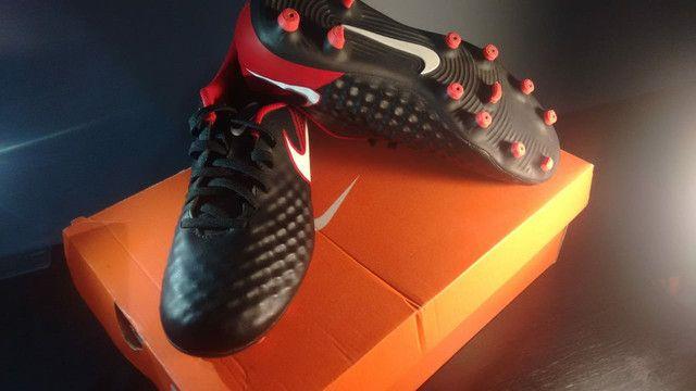 Chuteira Campo Nike Magista Onda II - Foto 6