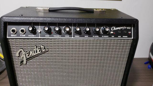 Amplificador Fender Champion 40 - Foto 3