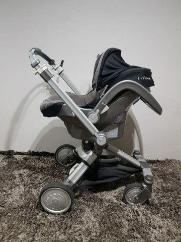 Carrinho e bebê conforto  - Foto 2