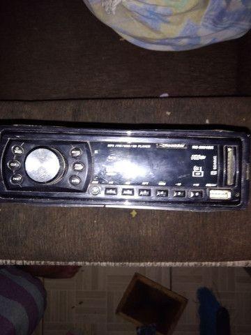 Rádio de carro e USB e cartão de memória barbada
