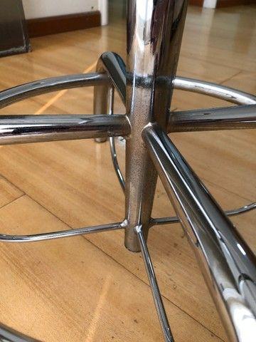 Conjunto mesa de vidro com 4 Cadeiras - Foto 6