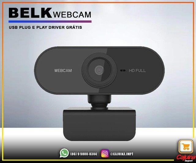 Webcam 1080p Full Hd Câmera Computador com Microfone M21sd9sd21 - Foto 2