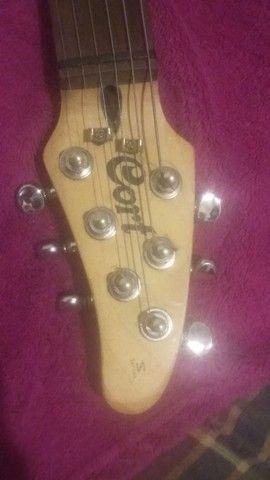 Guitarra Cort S500 impecável - Foto 4