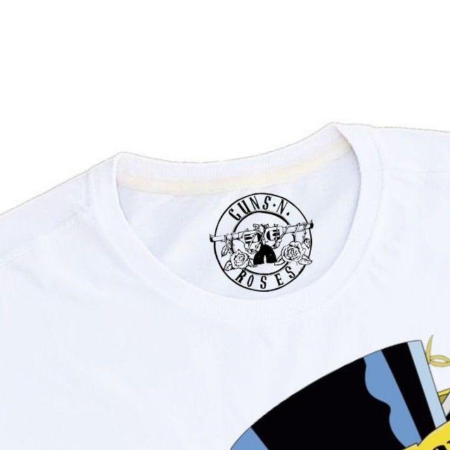 Camiseta Guns n Roses -  Masc e Fem - Foto 3