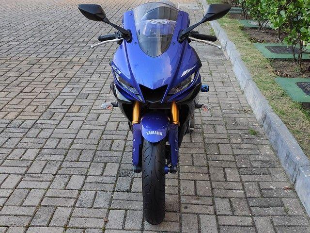 Yamaha R3 2020 2.200km ( anúncio real ) - Foto 7