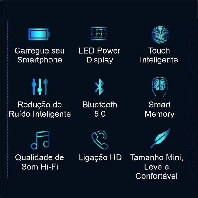 Fones Bluetooth F9 Touch Mini - Foto 3