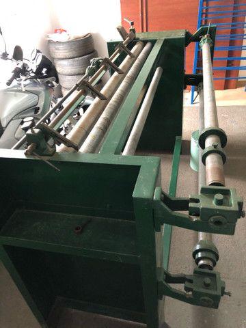 Rebobinadeira para corte de TNT, laminados plasticos e outros - Foto 4