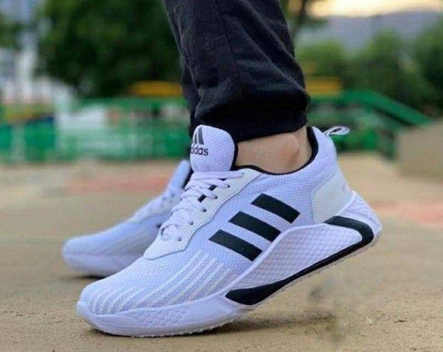 Tenis (Leia a Descrição) Tênis Adidas New Top Várias Cores - Foto 3