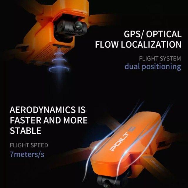 Drone JJRC X17 GPS 5G Dual GIMBAL 6k Grande Promoção - Foto 5