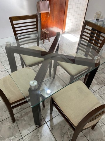 Conjunto de mesa de jantar
