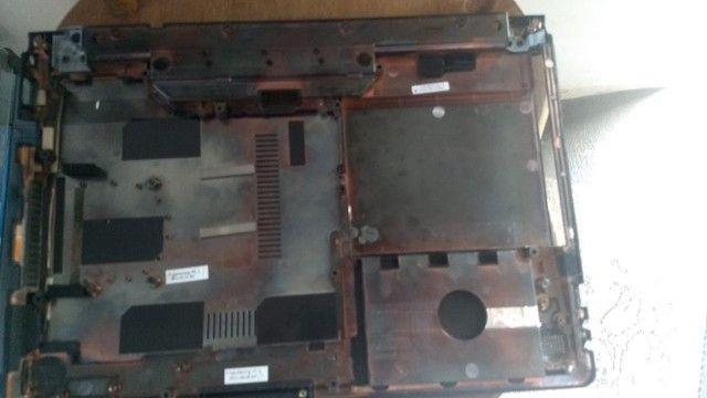 Carcaça Base Chassi Inferior Itautec A7420 - 310