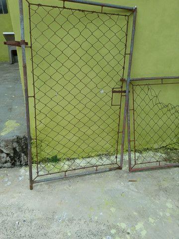 Portão para canil