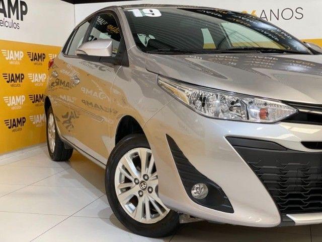 Toyota Yaris HB XL 1.3 Flex Mecânico 2019 - Apenas 18.000km rodados -  - Foto 4
