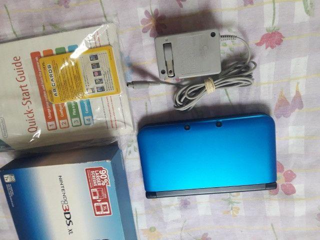 nintendo 3ds Xl + zelda + caixa (aceito troca) - Foto 2