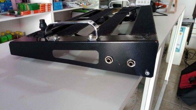 Oportunidade Pedal board Creation FD 61x31 com kit elétrico completo - Foto 6