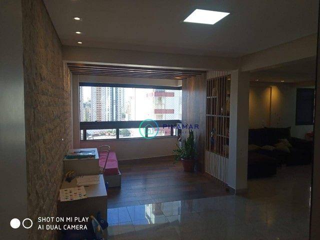 Apartamento com 3 dormitórios à venda, 179 m² por R$ 810.000,00 - Setor Bueno - Goiânia/GO - Foto 4
