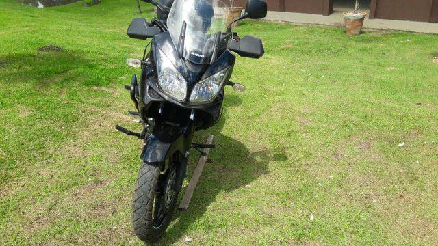 Vstrom 1000 DL e carreta para 2 motos - Foto 5