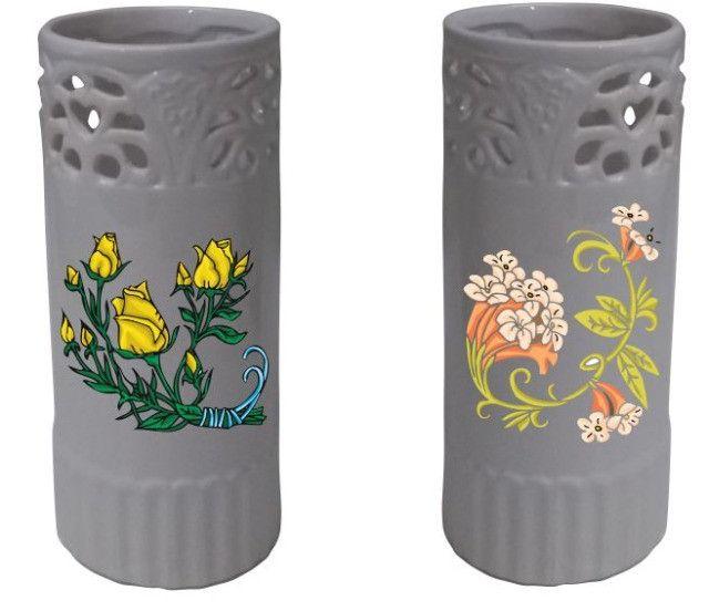 Vaso Cerâmica Personalizado De Acordo C/ Ambiente Do Cliente - Foto 2