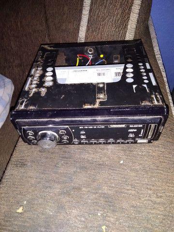 Rádio de carro e USB e cartão de memória barbada  - Foto 2