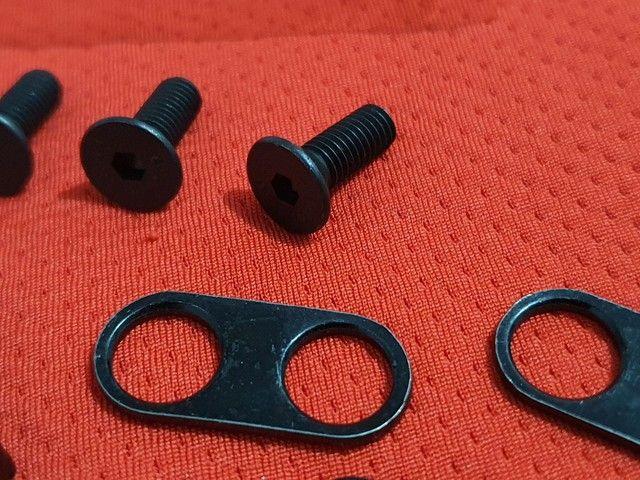 Taco para pedal de clip padrão shimano. Novo sem uso. Bike bicicleta  - Foto 2