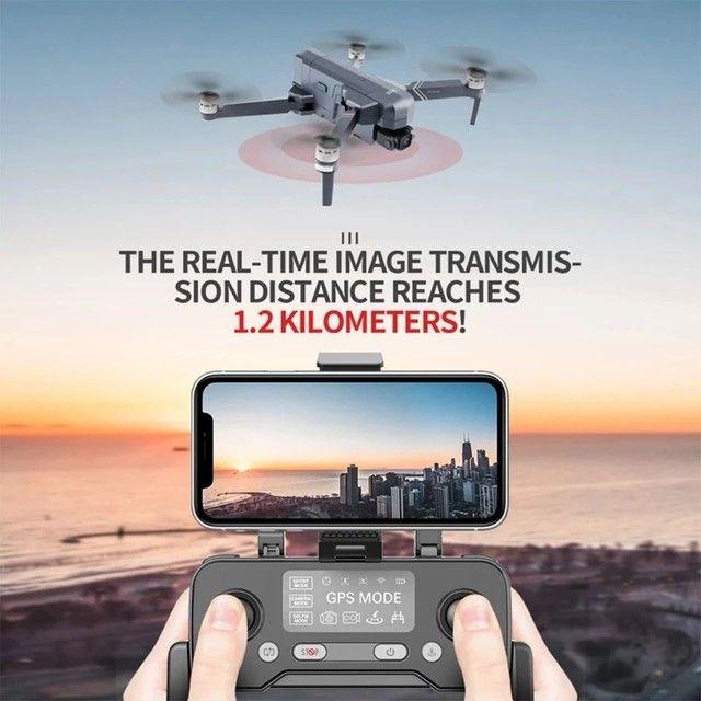 Drone SJRC F11 Pro 4k GPS Maleta Gimbal Estabilizador Eletrônico de imagens e EIS 1500mts - Foto 3