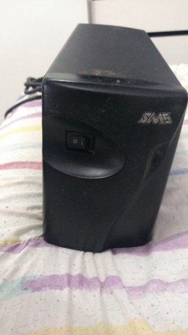 Estabilizador SMS - 1000w - BiVolt Automático - 4 tomadas