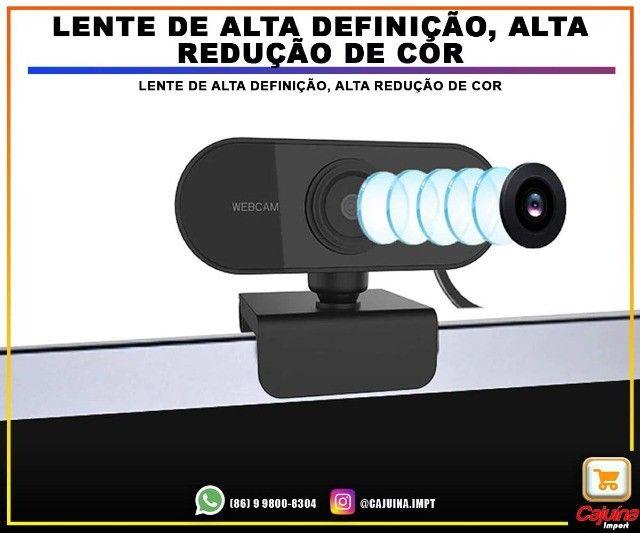 Webcam 1080p Full Hd Câmera Computador com Microfone M21sd9sd21