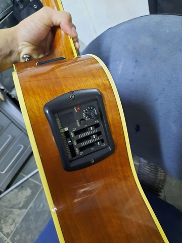 Violão Yamaha FGX-720sca - Foto 5