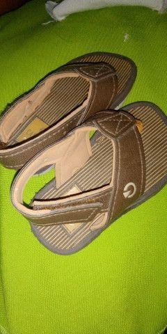 Calçados de menino semi novo