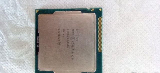 I3-3250, LGA 1155. + Memória ram DDR3 4GB 1333 ghz. - Foto 3