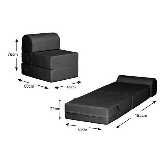 Sofá cama de solteiro - Foto 2