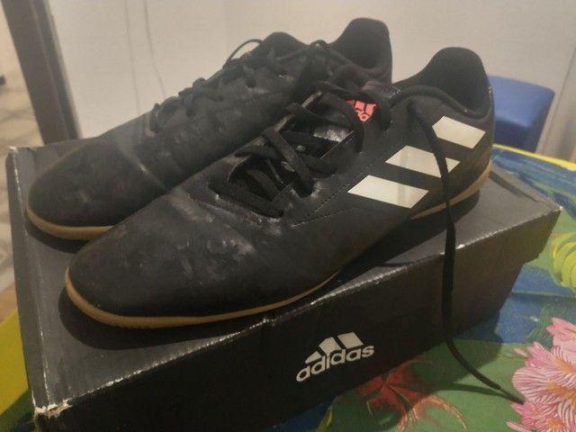 Chuteira Futsal Adidas Conquisto II TAM (43) - Foto 2