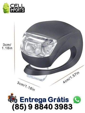 Kit 2 Luz De Segurança Bicicleta C/ Entrega Grátis
