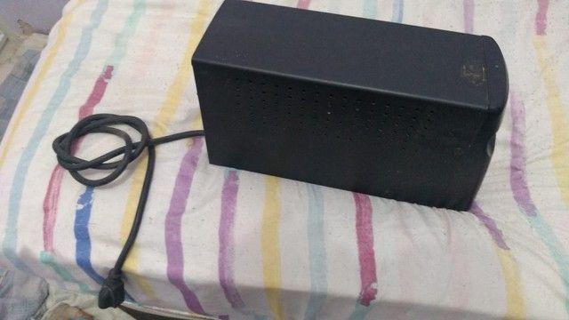 Estabilizador SMS - 1000w - BiVolt Automático - 4 tomadas - Foto 2